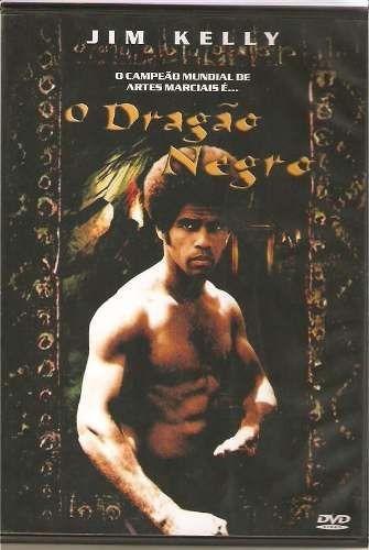 dvd - o dragão negro - jim kelly