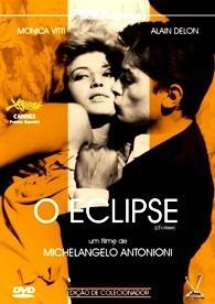 dvd o eclipse, de antonioni, com monica vitti  alain delon +