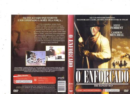 dvd o enforcado, steve forrest, western, original