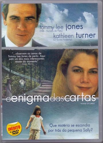 dvd o enigma das cartas - tommy lee jones - lacrado original