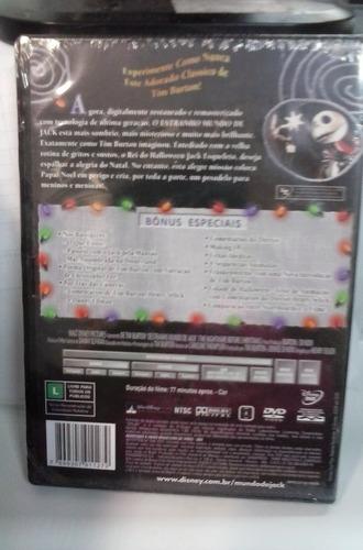 dvd o estranho mundo de jack ed. col. 2 discos