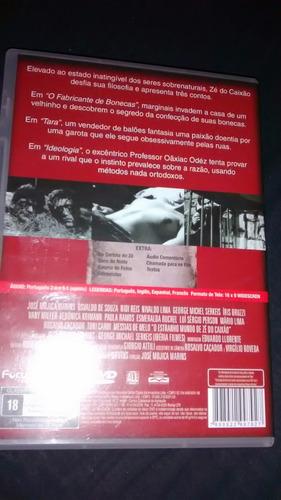 dvd : o estranho mundo de zé do caixão