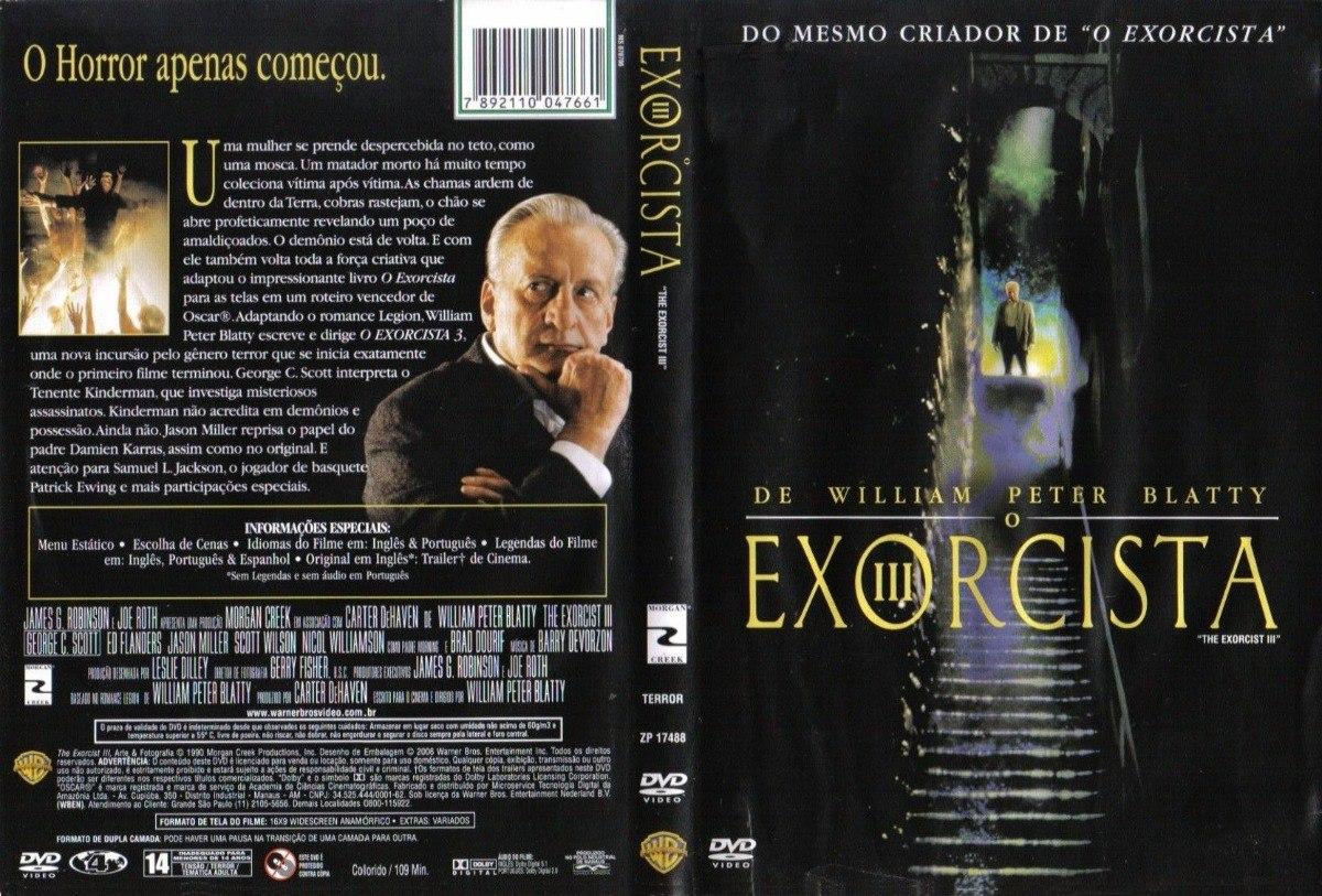 Dvd O Exorcista 3 - Original - Lacrado - R$ 35,00 em Mercado Livre