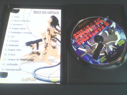 dvd o fantasma do futuro  (edição com encarte interno)