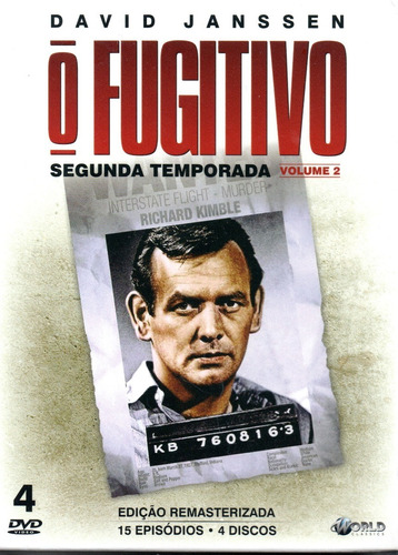 dvd o fugitivo 2ª temporada volume 2 - bonellihq l19