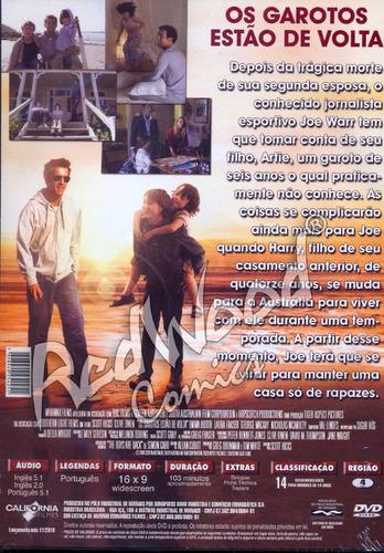 dvd - o garotos estão de volta - california filmes - redwood