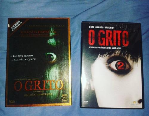 dvd o grito 1 e 2, suspense / terror,original edição de luxo