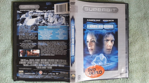 dvd o homem sem sombra original duplo frete gratis\