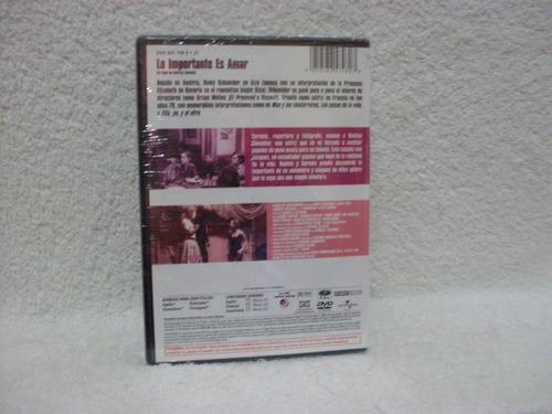 dvd o importante é amar- importado- legendado- lacrado