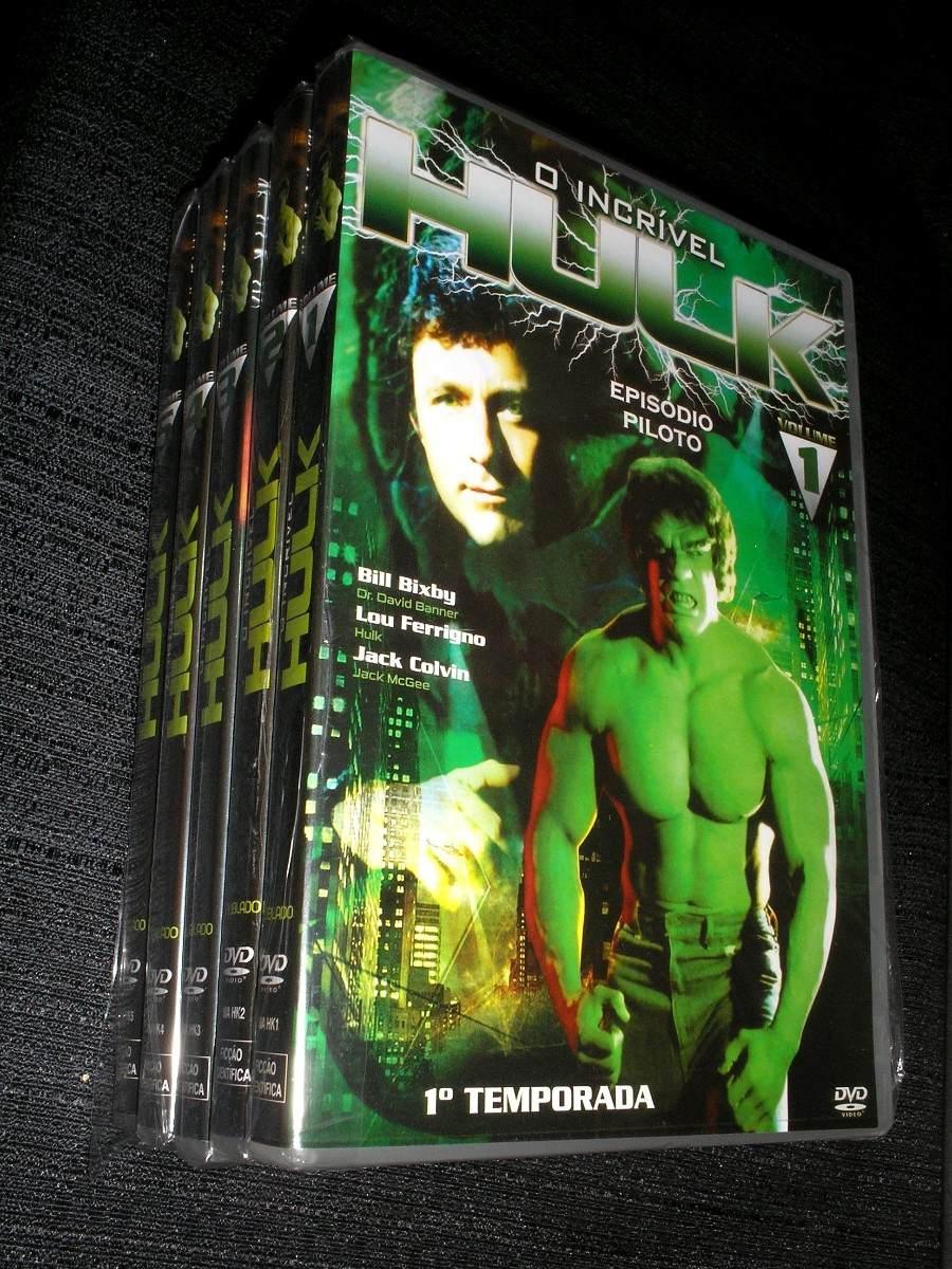 Incrivel Hulck Delightful dvd - o incrível hulk 1ª temp.05 dvd-original - lou ferrigno - r