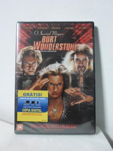 dvd o incrivel magico burt wonderstone - lacrado