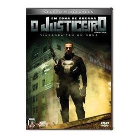 Dvd O Justiceiro Em Zona De Guerra