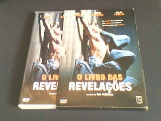 dvd o livro das revelações  (capa com luva)