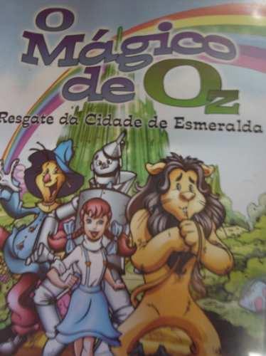 dvd o mágico de oz, o resgate da cidade de esmeralda