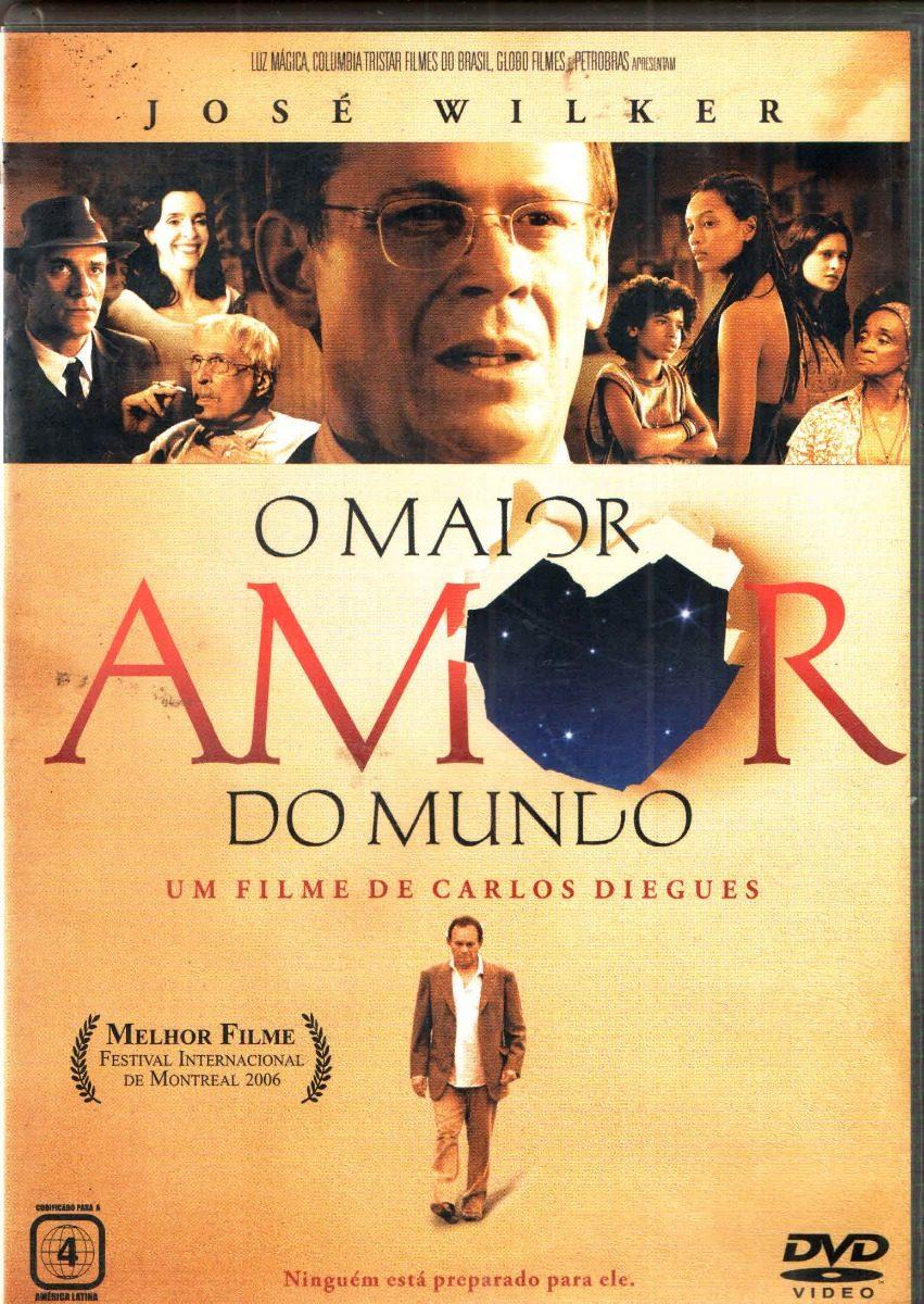Filme O Maior Amor Do Mundo in dvd o maior amor do mundo jose wilker tais araujo - r$ 14,40 em