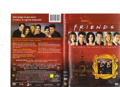 dvd o melhor de friends - 2ª temporada, 5 episódios original