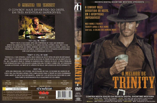 dvd o melhor de trinity - terence hill e bud specer - lacrad