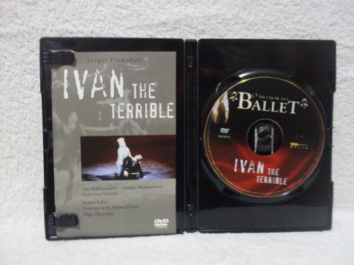 dvd o melhor do ballet- ivan the terrible