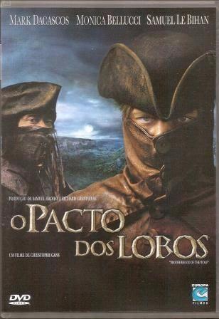 dvd o pacto dos lobos - original - dublado