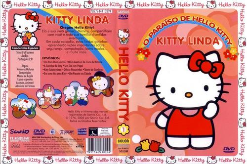 dvd o paraíso de hello kitty - kitty linda