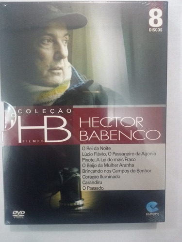 dvd o passado + 7 filmes hector babenco
