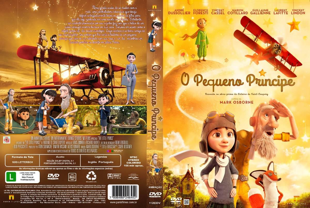 Filme O Pequeno Principe 2015 inside dvd o pequeno príncipe 2015 - r$ 12,00 em mercado livre
