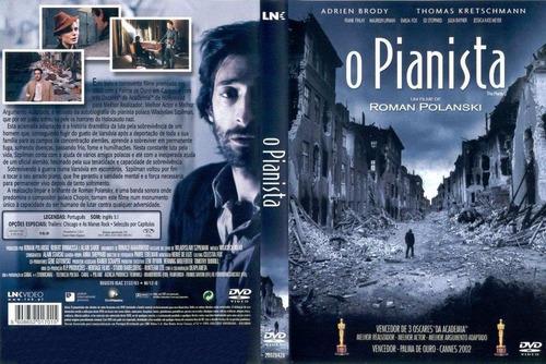 dvd o pianista (frete grátis)