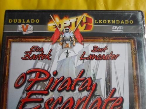 dvd o pirata escarlate / dublado-legendado