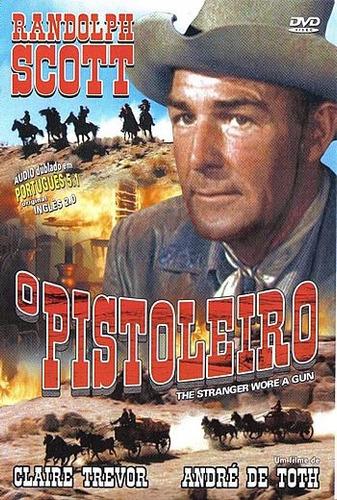 dvd o pistoleiro - andré de toth