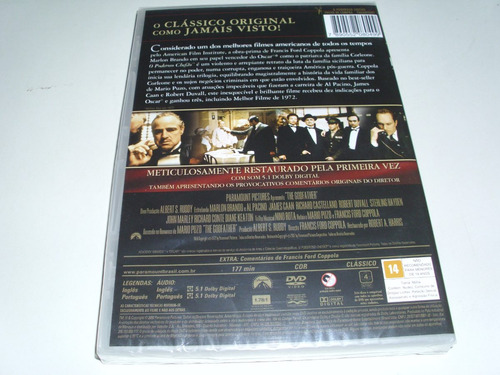 dvd o poderoso chefão
