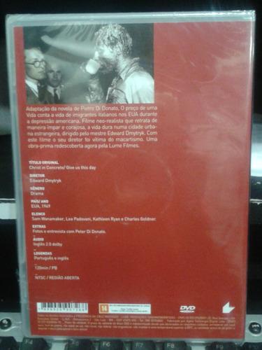 dvd - o preço de uma vida - edward dmytryk - 1949