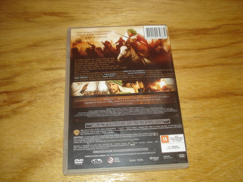 dvd - o príncipe do deserto - antonio banderas