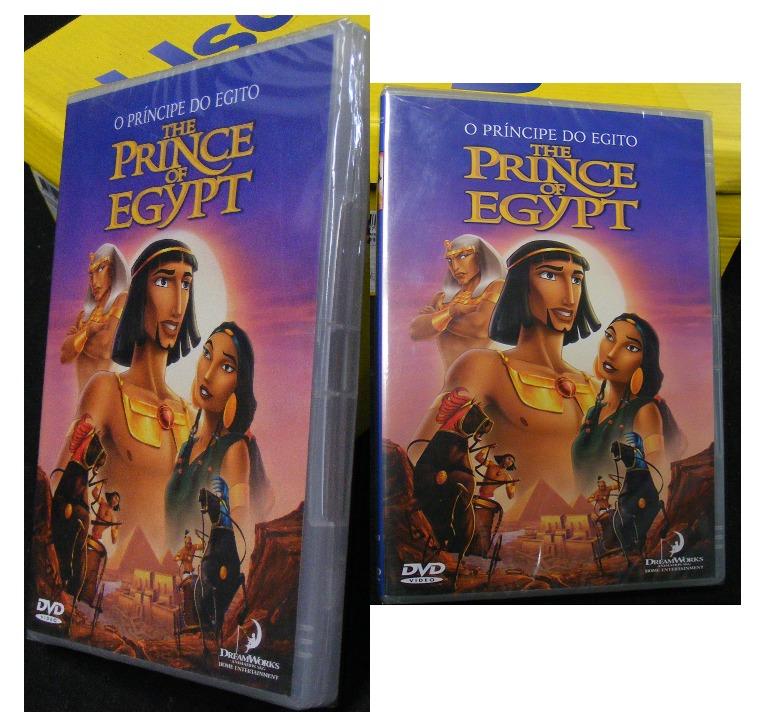 Dvd O Principe Do Egito Desenho R 50 00 Em Mercado Livre