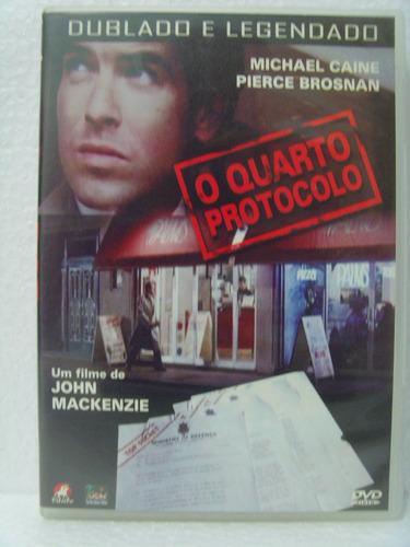 dvd o quarto protocolo - michael caine