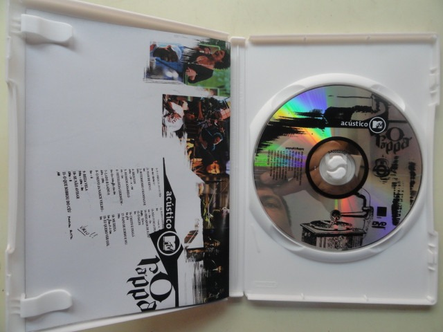 dvd o rappa mtv
