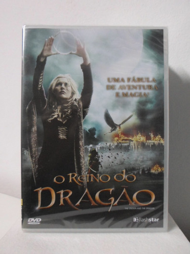 dvd o reino do dragão - lacrado - original