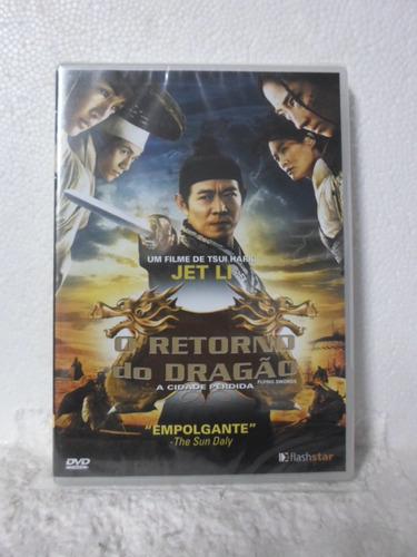 dvd o retorno do dragão - lacrado
