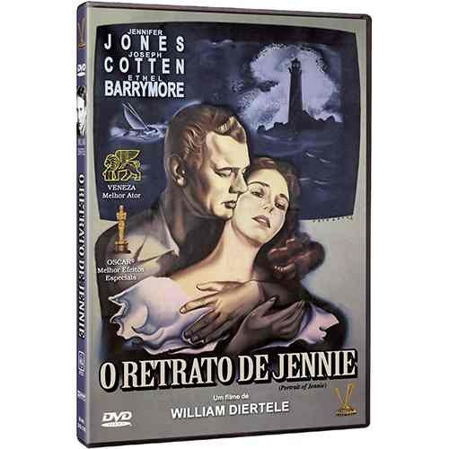 dvd - o retrato de jennie - jennifer jones, joseph cotton