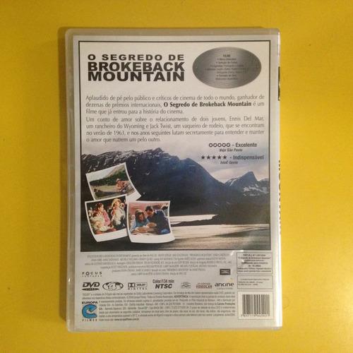 dvd o segredo de brokeback mountain