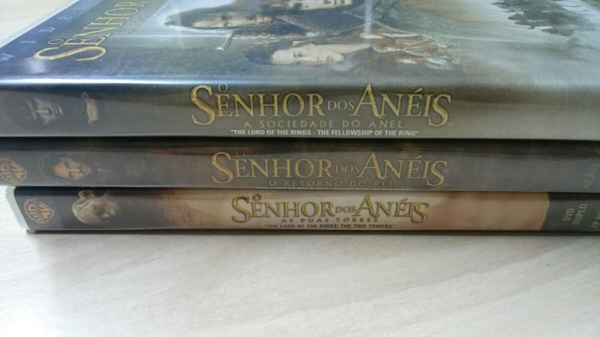 Dvd O Senhor Dos Anéis Trilogia Completo Impecável