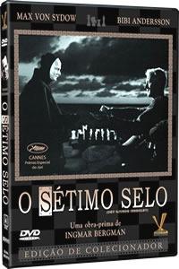 dvd o sétimo selo, de ingmar bergman, max von sydow 1956 +