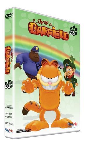 dvd o show do garfield - vol. 3