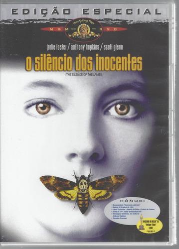 dvd o silêncio dos inocentes jodie foster anthony hopkins