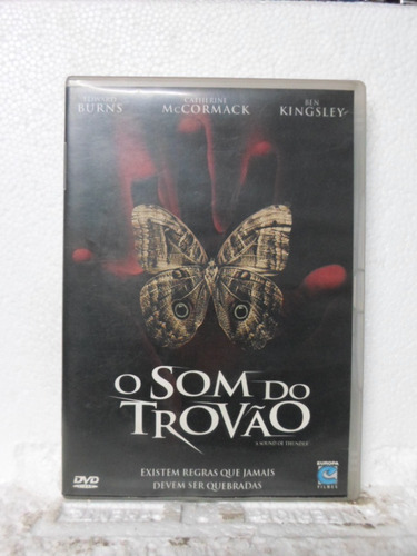 dvd o som do trovão - original