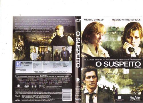 dvd o suspeito, meryl streep, jake gyllenhaal - original