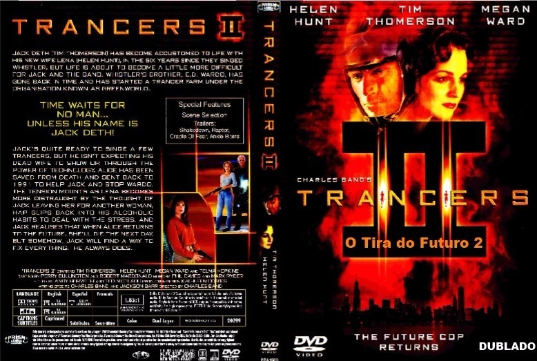 Dvd O Tira Do Futuro 2 - Trancers Ii (1991) Dublado - R$ 19,00 em ...