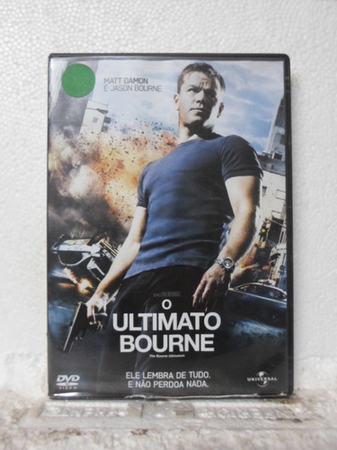 dvd o ultimato bourne - original