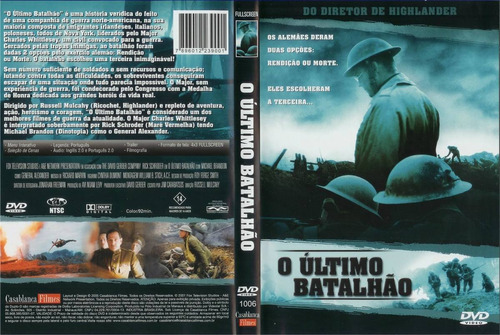 dvd o último batalhão