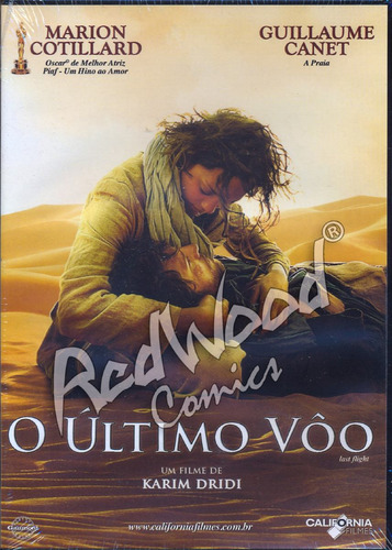 dvd - o último vôo - california filmes - redwood