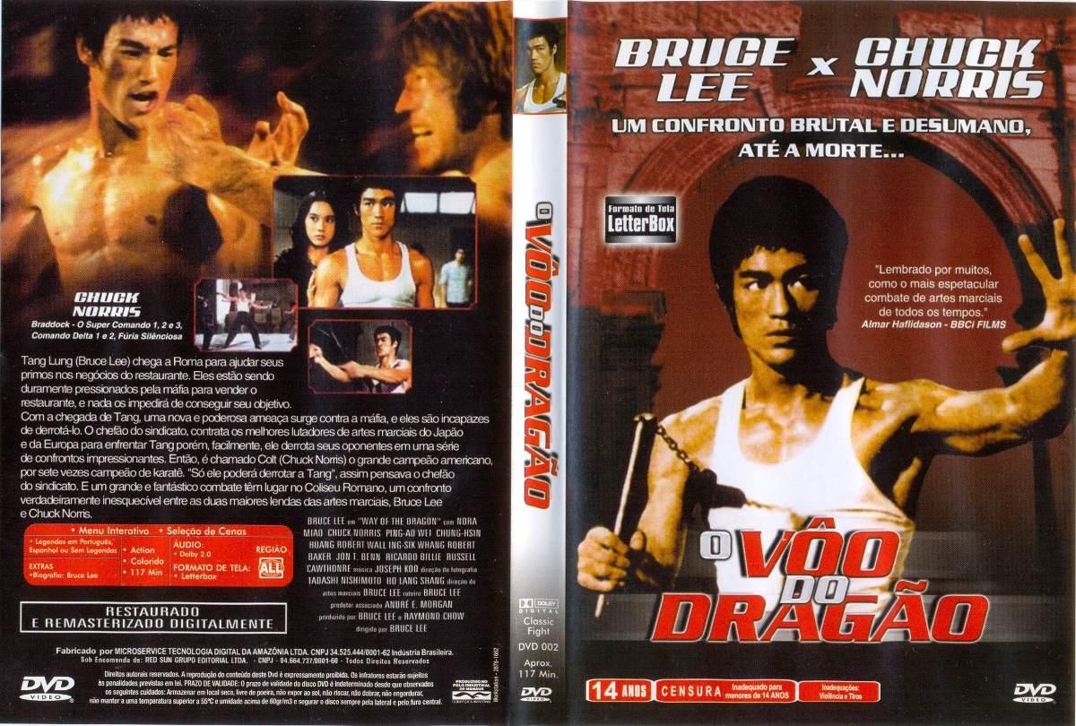 O Vôo do Dragão (1972) - Bruce Lee Vs. Chuck Norris